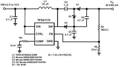 48V DC Power Converter 12V on timer connection diagram