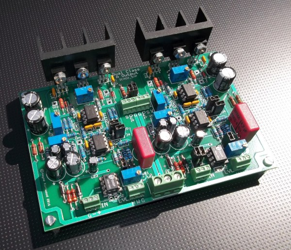 dual class a ii line output and headphone amplifier